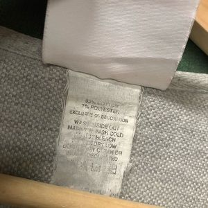 NFL Shirts - NFL large gray Green Bay polo shirt